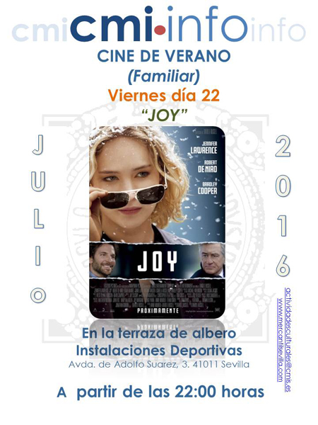 Cine Familiar 22 Julio 16