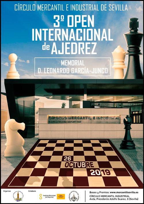 Plazo abierto para participar en III Open Internacional Memorial «Leonardo García-Junco Gutiérrez»