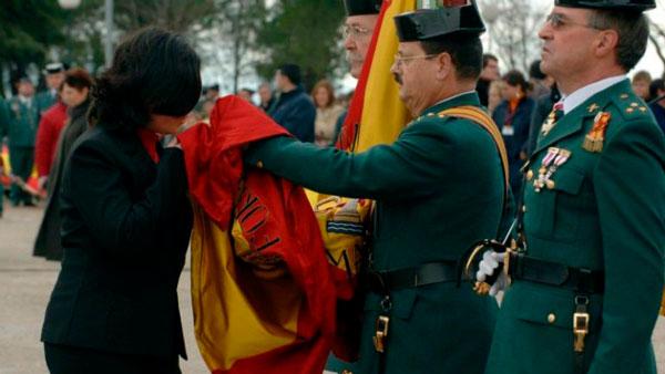 Acto de Jura de Bandera en la Plaza de España el próximo 19 de mayo