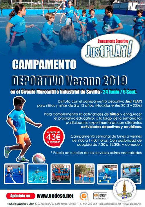 Campamento deportivo de verano JustPlay!