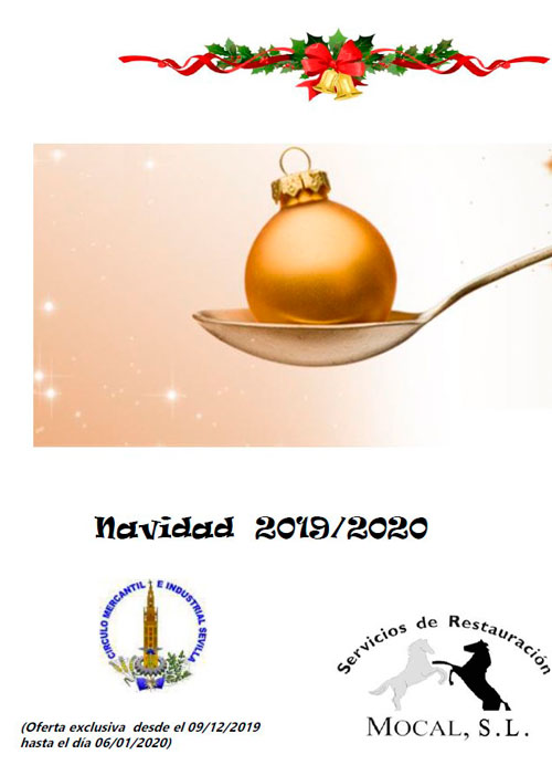 Ya se pueden reservar las comidas y cenas de Navidad en las Instalaciones