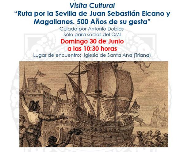"""""""Ruta por la Sevilla de Juan Sebastián Elcano y Magallanes"""""""