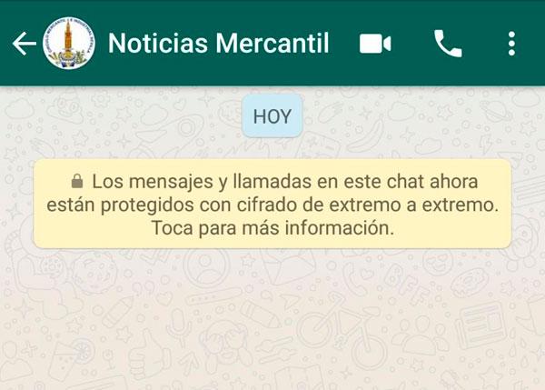 Recibe noticias del Círculo Mercantil por Whatsapp