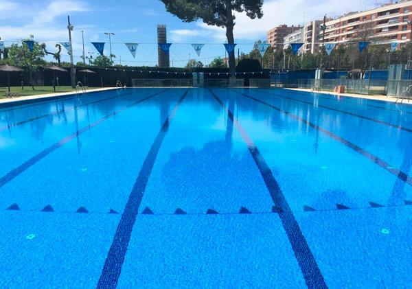Horarios de la piscina olímpica y climatizada del mes de agosto