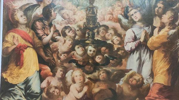 Último fin de semana para admirar de cerca el lienzo restaurado de Herrera el Viejo