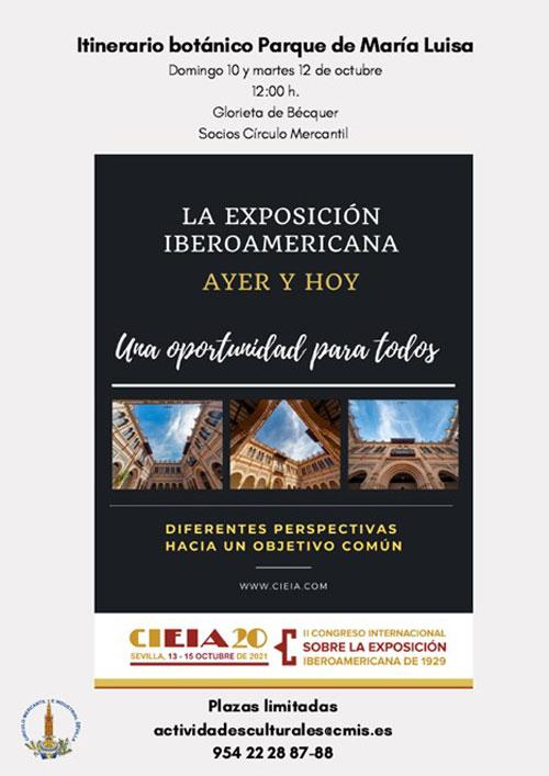 Itinerario botánico por el Parque de María Luisa para socios y familiares